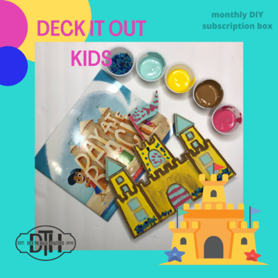 DECK IT OUT - Kids Monthly Subscription Box JULY