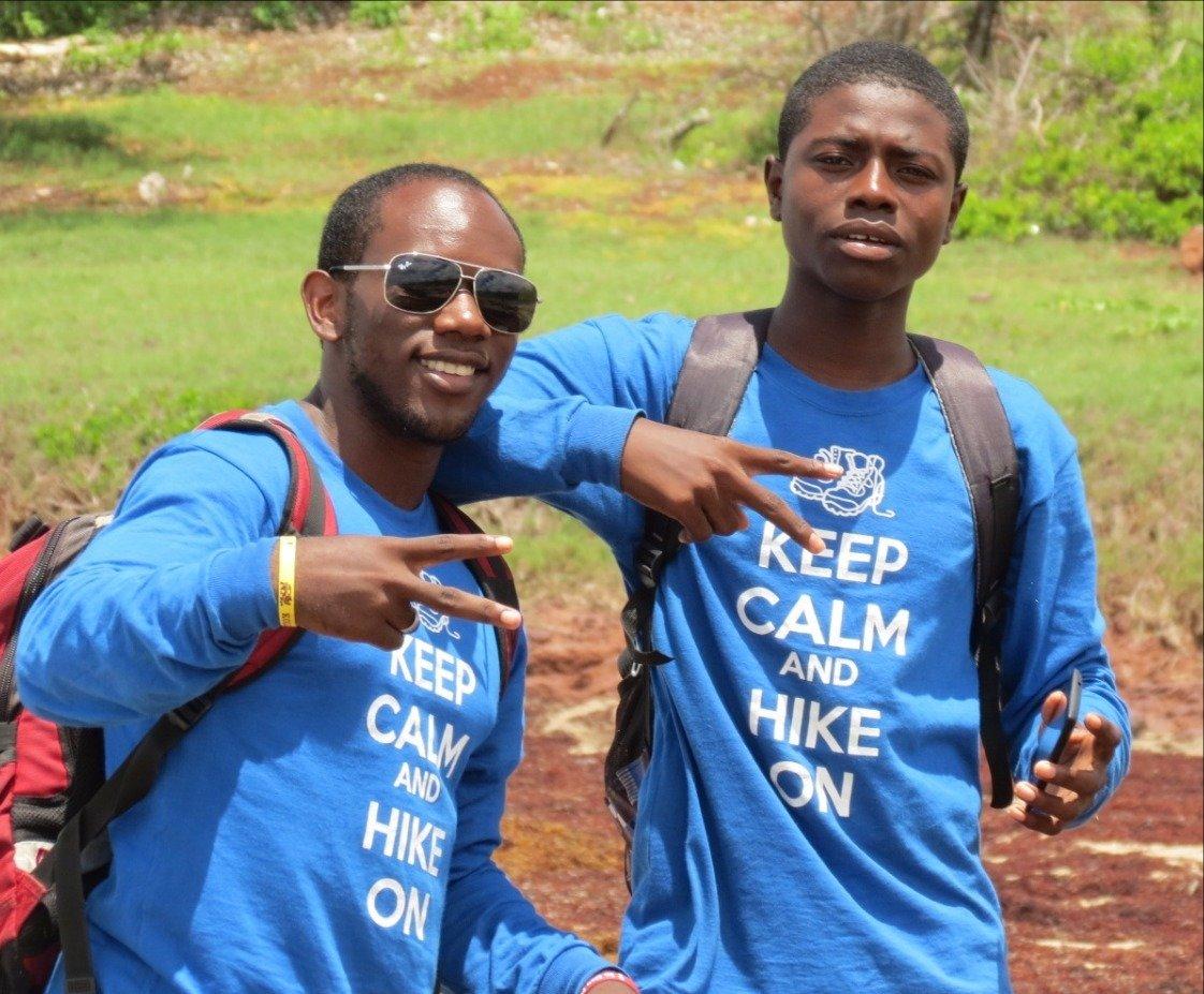 Keep Calm & Hike On Long-sleeve