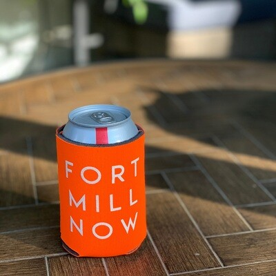 Fort Mill Now Koozie (1 included in every order)