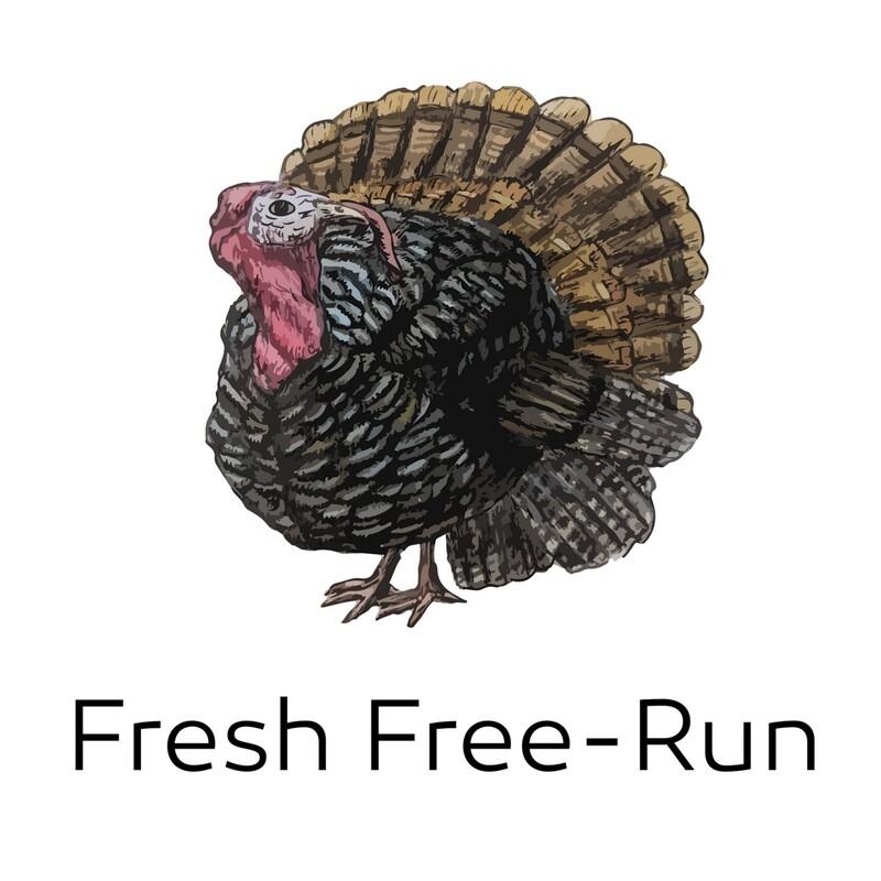 FRESH Free-Run Local Turkey Pre-order