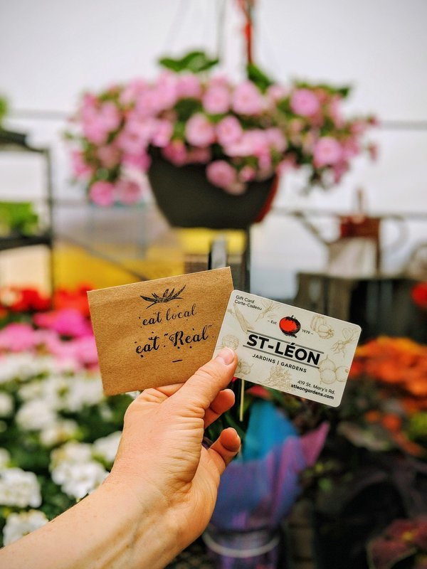 St-Léon Gardens Gift Card (various values)