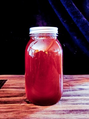 Quart Jar- Saw Palmetto Honey