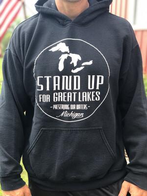 SUFGL  Black Hoodie Sweatshirt