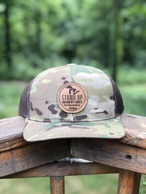 SUFGL Low Profile SnapBack Hat-Camo