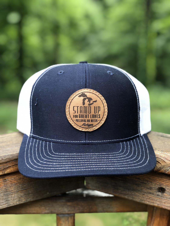 SUFGL Low Profile SnapBack Hat-Navy Blue