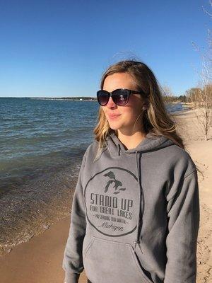 SUFGL Charcoal Hooded Sweatshirt