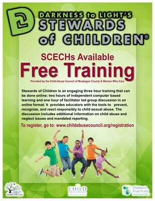 MAISD CEU Eligible Stewards of Children Training