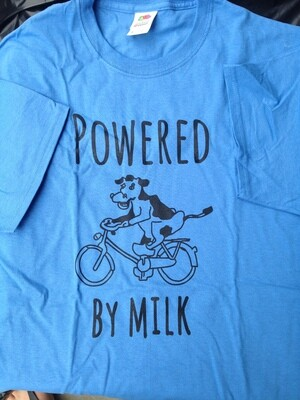 Powered by Milk T-shirt