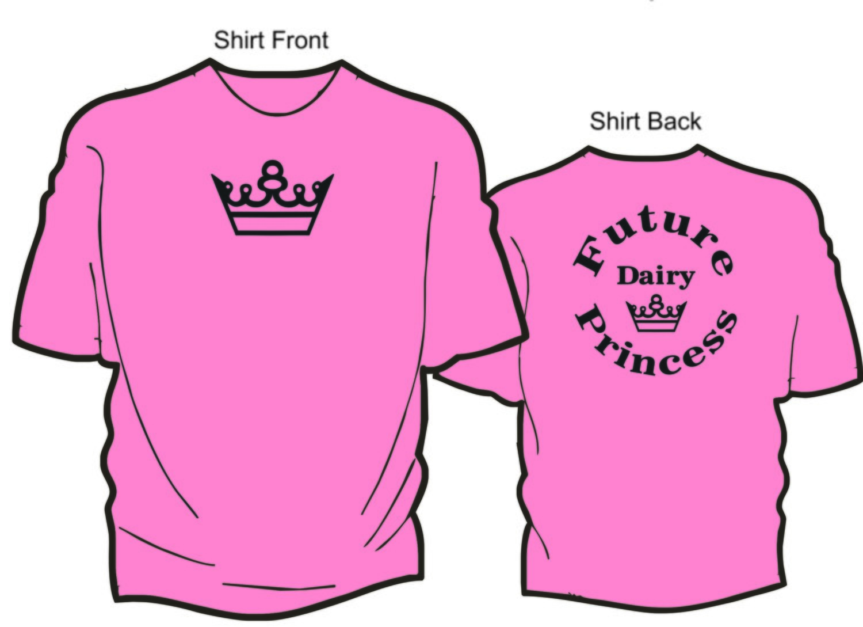 Future Dairy Princess T-shirt