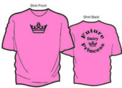 Future Dairy Princess T-shirt