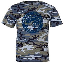 Youth Blue Camo T-shirt
