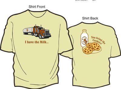 I Have the Milk T-shirt