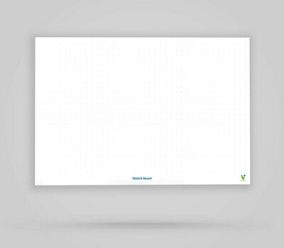 Vi-Board: Sketch Board - Whiteboard Poster - DIN A0