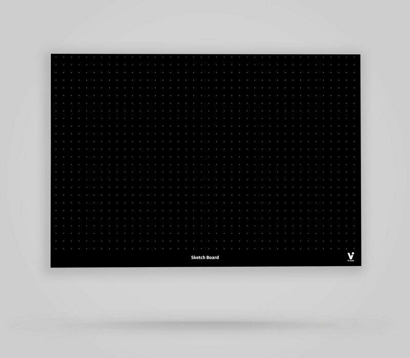 Vi-Board: Sketch Board - Blackboard Poster - DIN A0