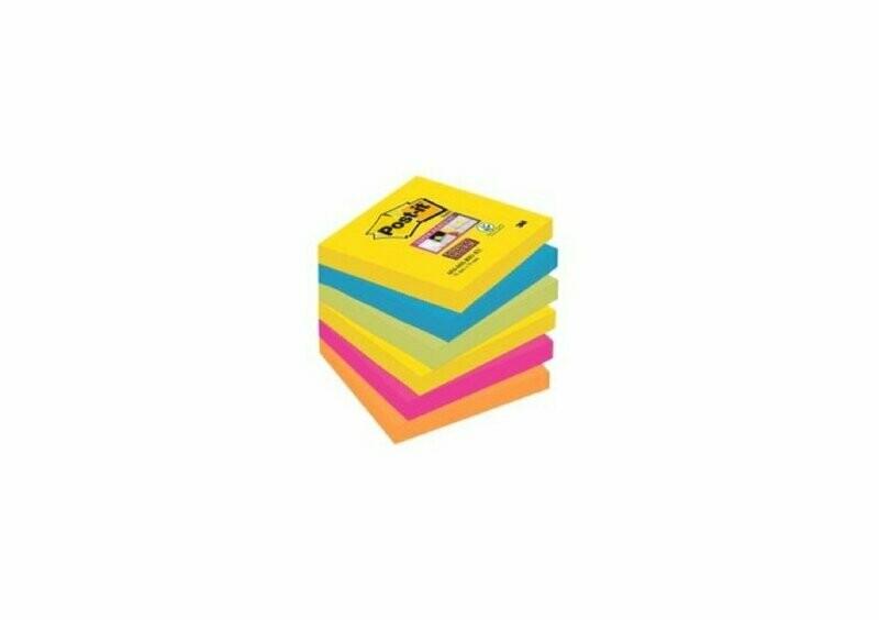 Post-it® Super Sticky Notes 7,6 x 7,6 cm