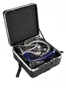 Kitther, Maleta de transporte rígida de ABS y aluminio.
