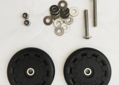 Brompton - Par rueditas Eazy Wheel (diámetro interior 5mm)