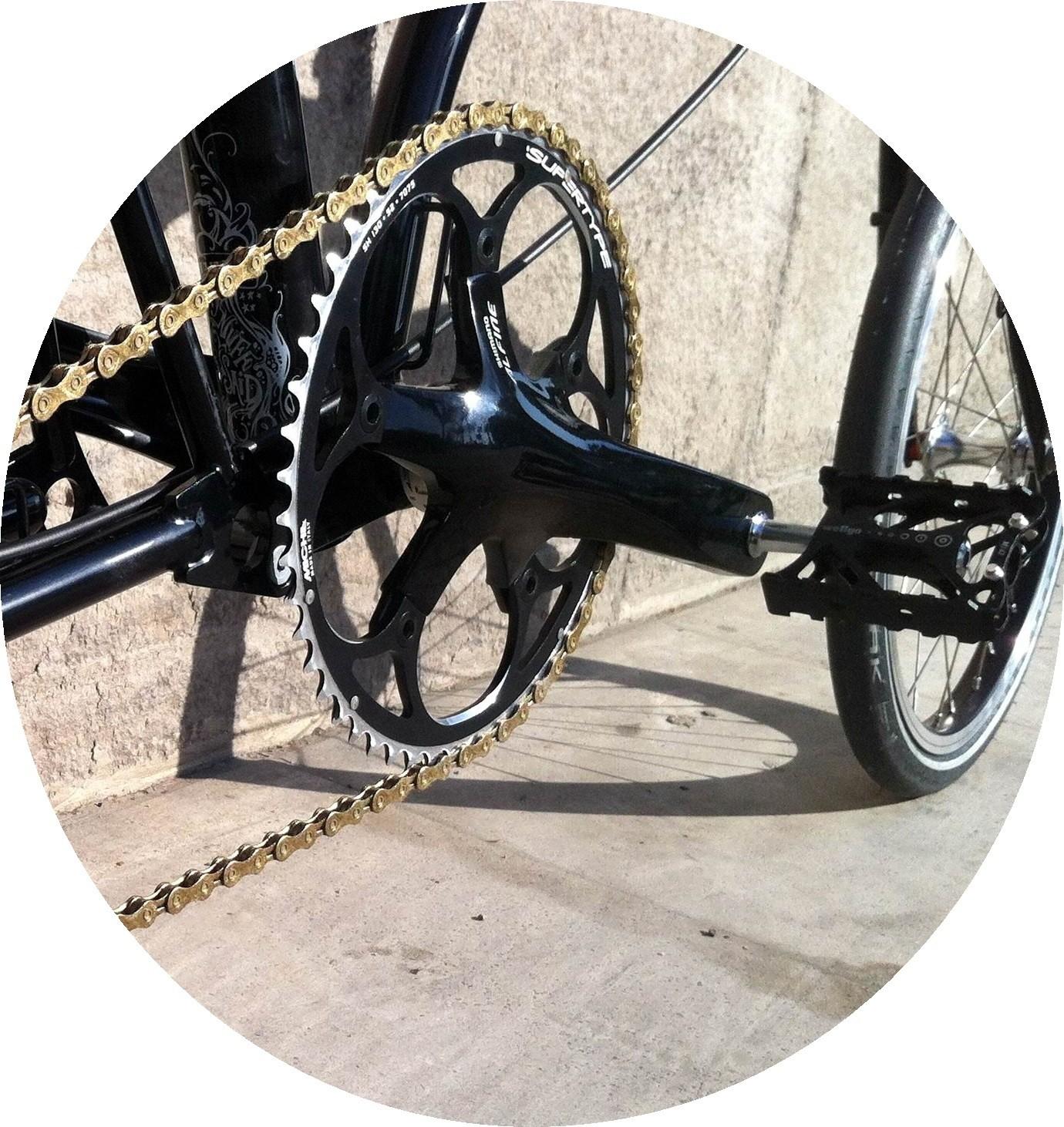 Alfine crankset + choose chainring + special fittings