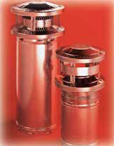 Class A Triple Wall Stainless Steel Chimney
