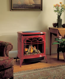 Stardance UV Free Standing Vent-Free Gas Stove