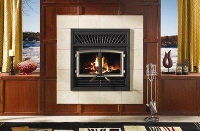 Solution 2.5 ZC Wood Fireplace