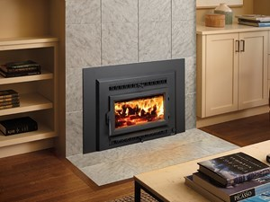 Small Flush Wood Hybrid-Fyre Insert