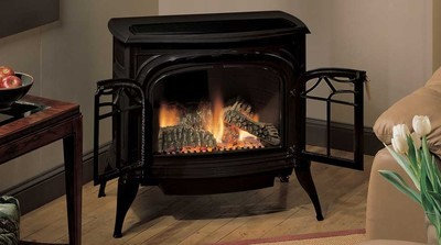 Radiance Free Standing Vent-Free Gas Stove