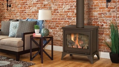 Lakefield Free Standing Vented Gas Stove