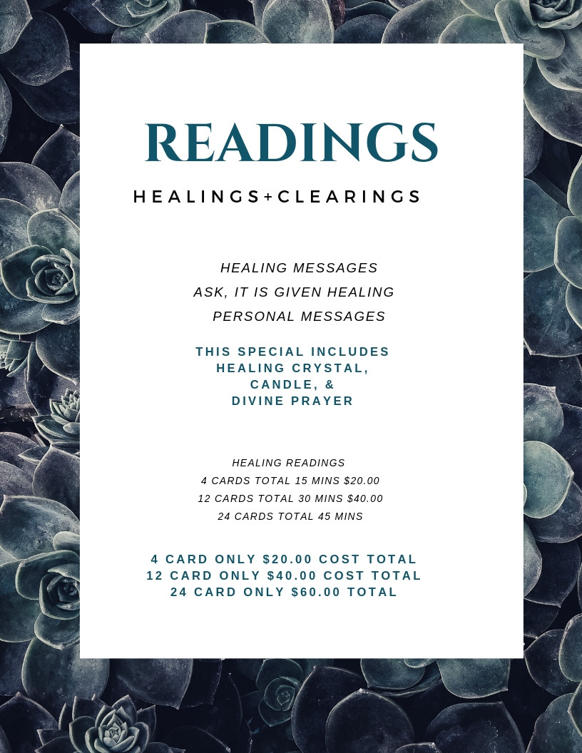 Deep Healing -Oracle Reading