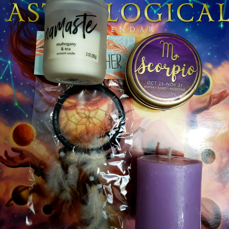 Scorpio zodiac Selflove Healing Box