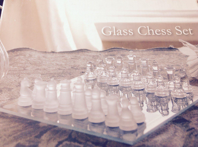 CHESS- Game Set Glass