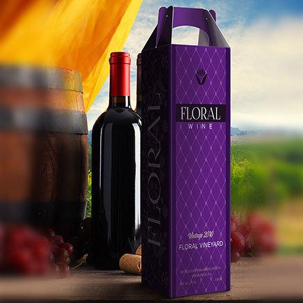 Custom Printed Wine Boxes. As low as $0.85 each.
