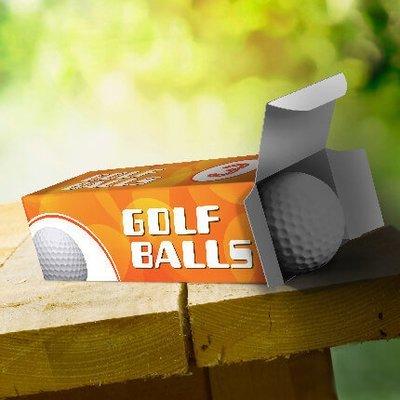 Custom Printed Golf Ball Sleeves. As low as $0.75 each.