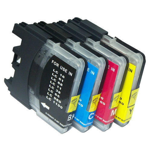 PACK LC980/LC1100 4pcs (BK+C+M+Y)