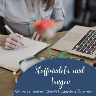 Sonder-Webinar: Stoffwindeln und Tragen (29.05.2021)