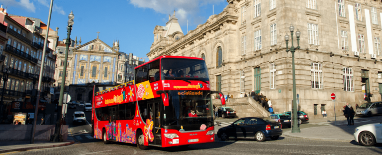 Red Bus - City SightSeeing Porto 1 Day (Adult Price)