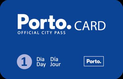 1 Dia Porto Card - Pedonal / 1 Day Porto Card - Walker