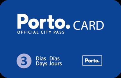 3 Dias Porto Card - Pedonal / 3 Days Porto Card - Walker
