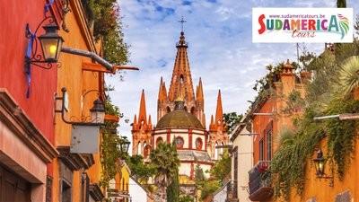 Mexico, de Koloniale Steden (vluchten niet inbegrepen !)