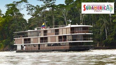 Ecuador, Manatee Amazon Cruise