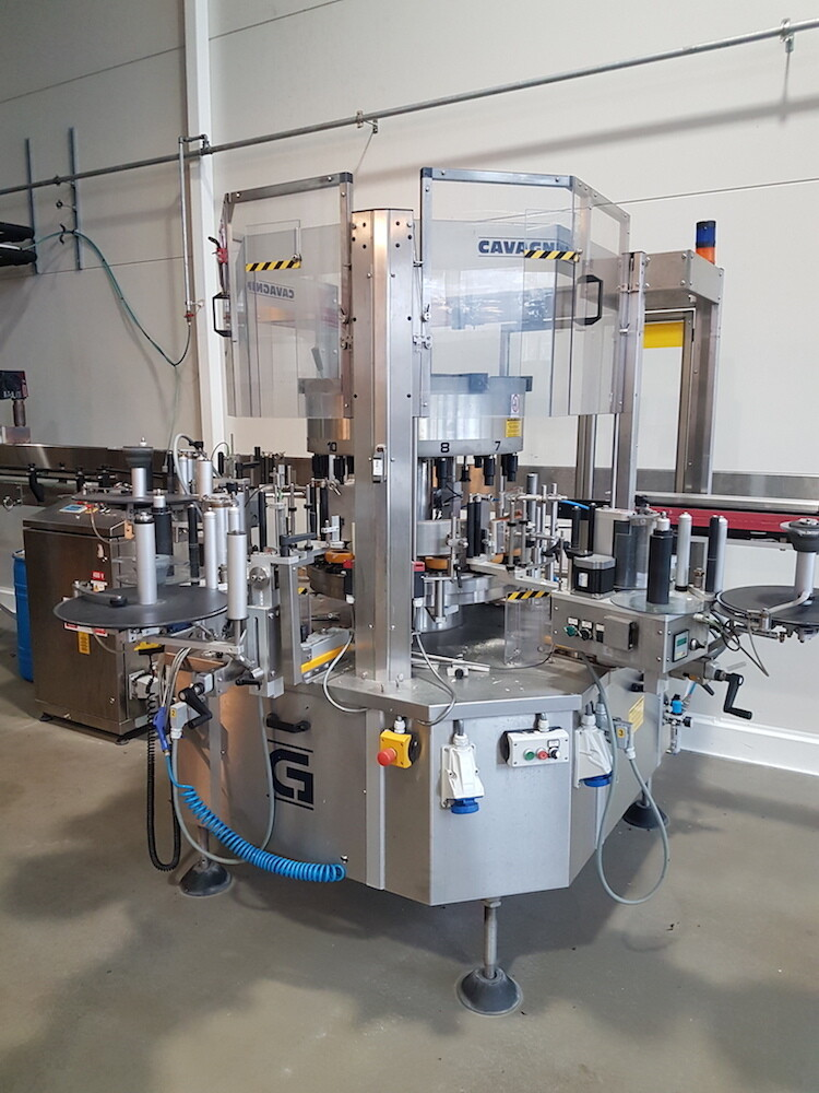 Cavagninno & Gatti - Self-Adhesive Labelling Machine [USED]