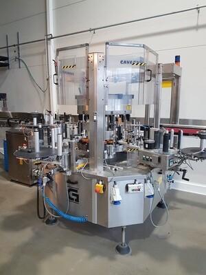 Cavagninno & Gatti - Self-Adhesive Labelling Machine [USED]