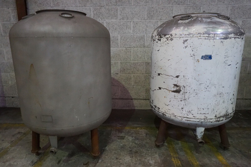 5 Barrel Grundy Tanks - Secondhand