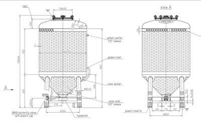 1000 Litre Tank - WW10611V4N