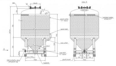 1300 Litre Tank - WW10616V4N
