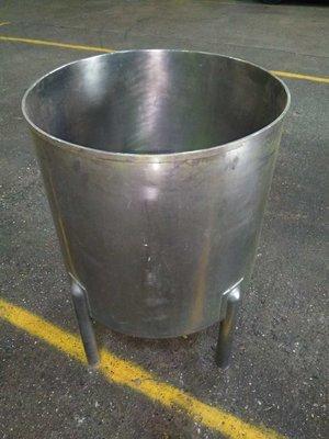 227 Litre Tank - Vertical, Cylindrical Open Top Vessel