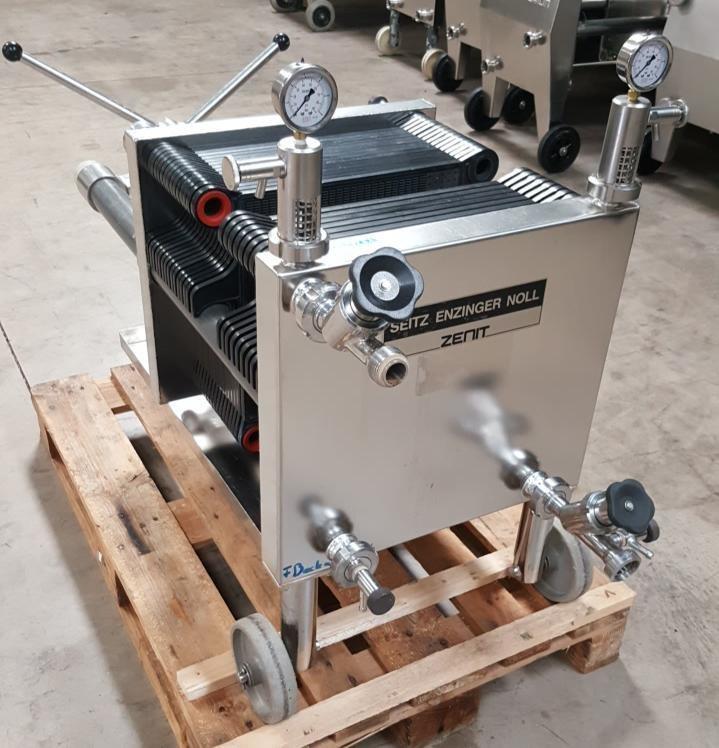 Plate & Frame Filter - 40cmx40cm - Seitz Zenit - SEN-40A30 - [Reconditioned]