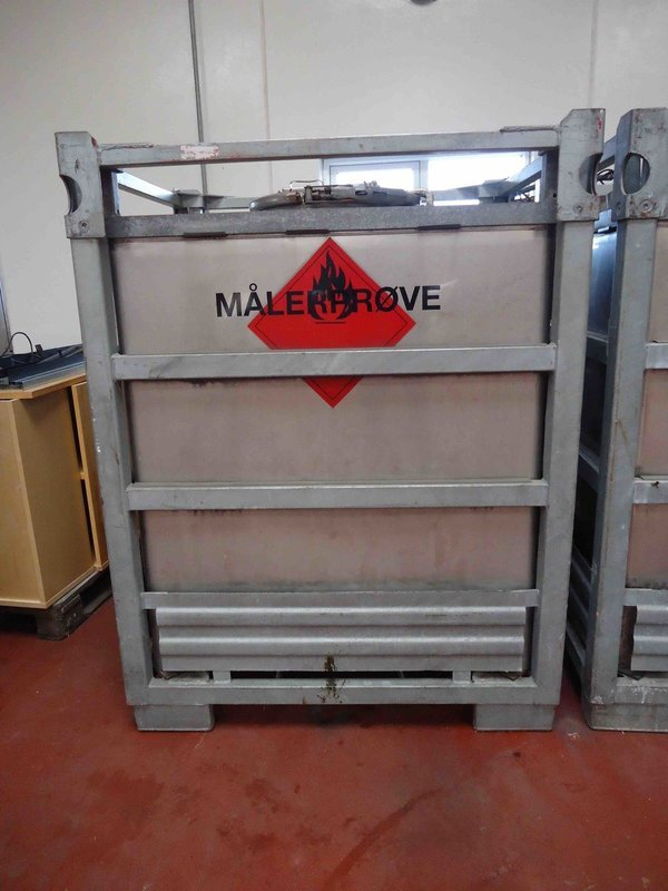 1000 Litre - Intermediate Bulk Container - Stainless Steel