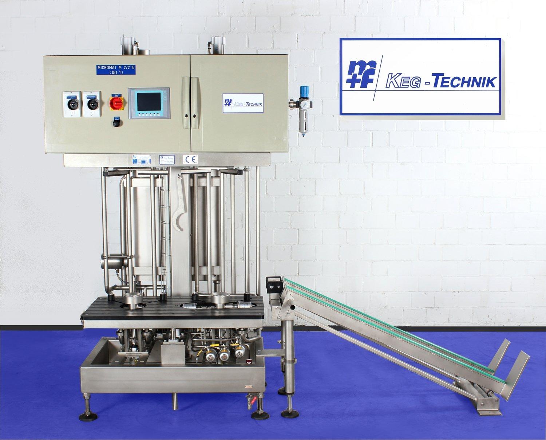 MICROMAT - M 2/2-B - Internal KEG Cleaning & Filling Machine - (Semi-Automatic)