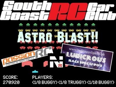 Astro Blast!! 1/8 Nitro Buggy Race